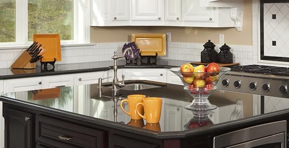 Comptoir cuisine et vanit quartz granite fabrique plus for Dessus de comptoir de salle de bain