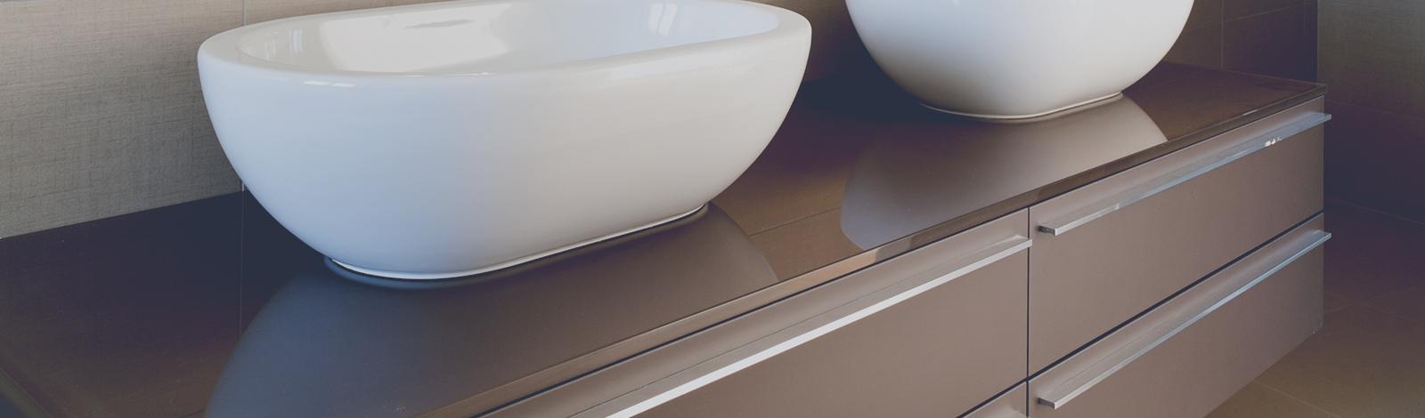 Armoires de cuisine et de salle de bain en acrylique fabrique plus - Contour de bain acrylique ...