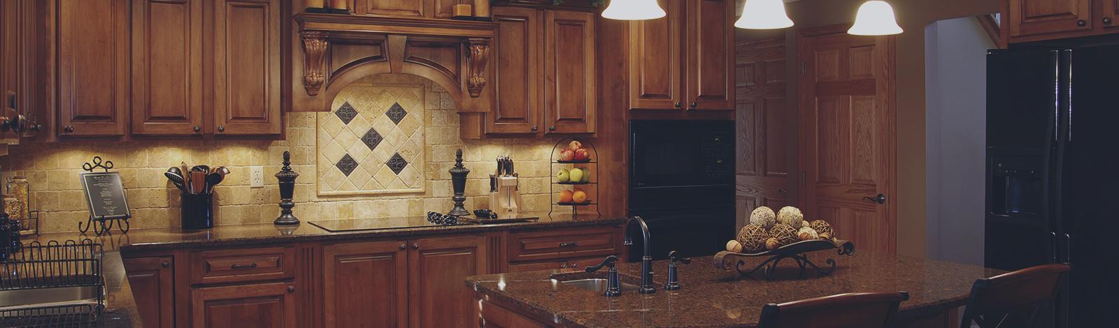 Armoires de cuisine et salle de bain fabrique plus - Couleur armoire cuisine ...